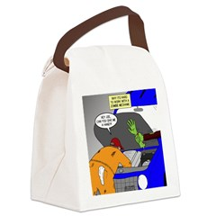 Zombie Mechanic Jokes Canvas Lunch Bag