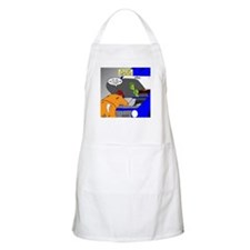 Zombie Mechanic Jokes Apron