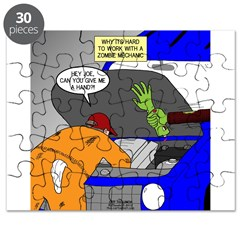 Zombie Mechanic Jokes Puzzle