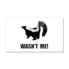 Skunk Wasnt Me Car Magnet 20 x 12