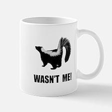 Skunk Wasnt Me Mugs