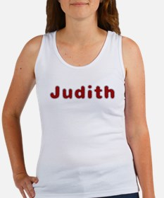 Judith Santa Fur Tank Top