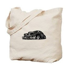 50s Lowrider Hot Rod Tote Bag