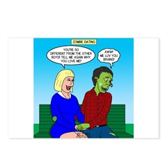 Zombie Dating Postcards (Package of 8)