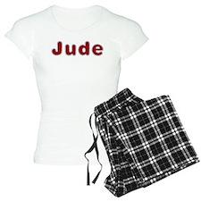 Jude Santa Fur Pajamas