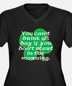 Start In the Morning Plus Size T-Shirt