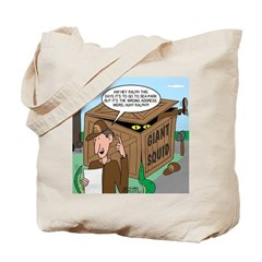 Giant Squid Trap Tote Bag