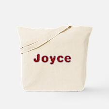 Joyce Santa Fur Tote Bag