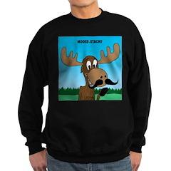 Moose-Stache Sweatshirt (dark)
