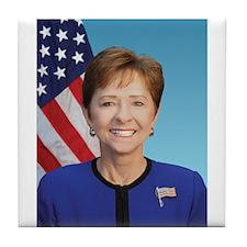 Sue Myrick, Republican US Representative Tile Coas