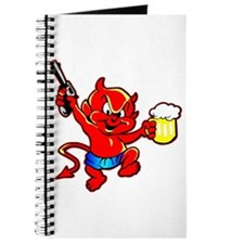 Beer Drinking Pistol Devil Journal