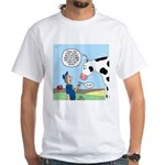 Scout Meets Cow White T-Shirt