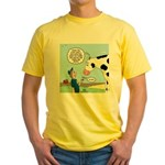 Scout Meets Cow Yellow T-Shirt