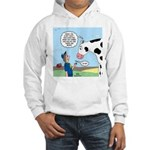 Scout Meets Cow Hooded Sweatshirt