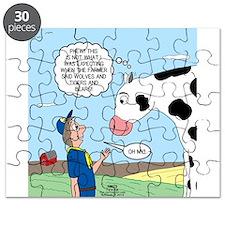 Scout Meets Cow Puzzle