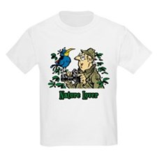Bird Watcher Kids T-Shirt
