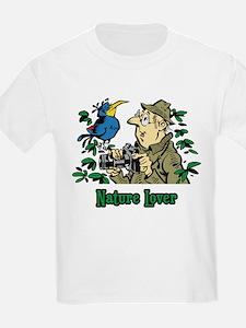 Bird Watcher Kids T-Shirt