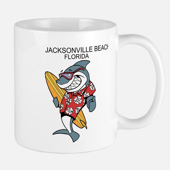 Jacksonville Beach, Florida Mugs