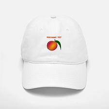 Custom Peach Baseball Baseball Cap