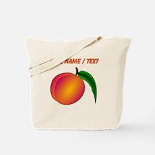 Custom Peach Tote Bag
