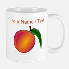 Custom Peach Mugs