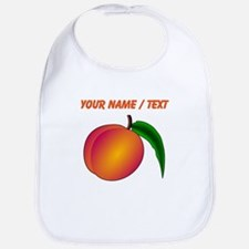 Custom Peach Bib