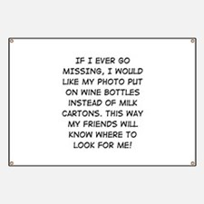 Wine Bottle Missing Banner