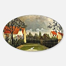 Henri Rousseau - The Poultry Yard Decal