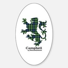 Lion - Campbell of Breadalbane Sticker (Oval)