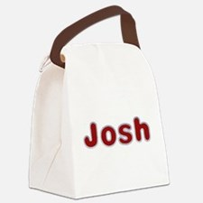 Josh Santa Fur Canvas Lunch Bag