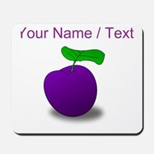 Custom Purple Plum Mousepad