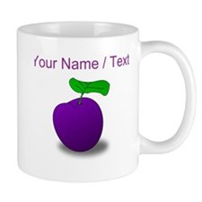 Custom Purple Plum Mugs