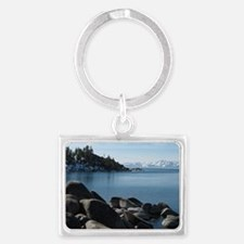 North Lake Tahoe, Incline Villa Landscape Keychain