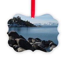North Lake Tahoe, Incline Village Picture Ornament