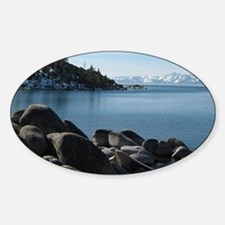 North Lake Tahoe, Incline Village Sticker (Oval)