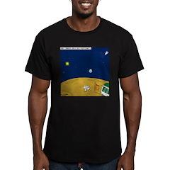 Tornado Defense System Men's Fitted T-Shirt (dark)