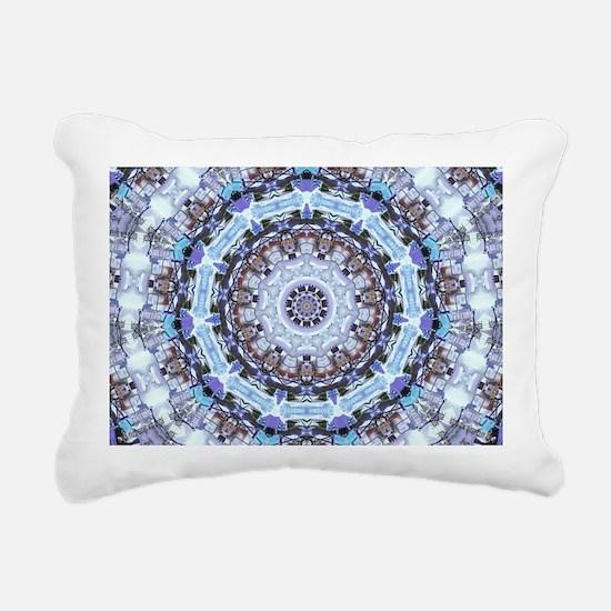 Hippy Pattern Rectangular Canvas Pillow