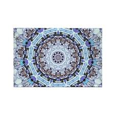 Hippy Pattern Rectangle Magnet