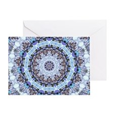 Hippy Pattern Greeting Card