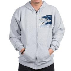 Salmon Run Zip Hoodie