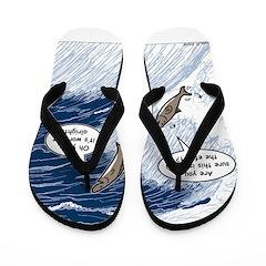 Salmon Run Flip Flops