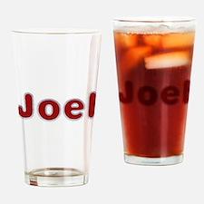 Joel Santa Fur Drinking Glass