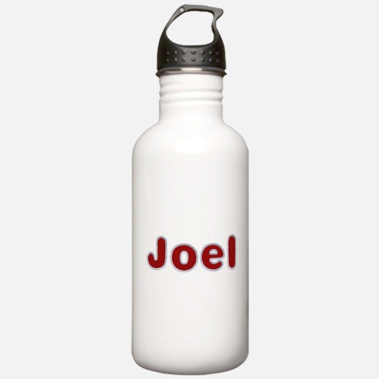 Joel Santa Fur Water Bottle