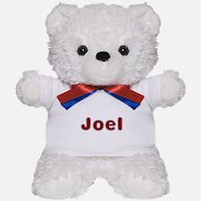 Joel Santa Fur Teddy Bear