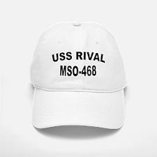 USS RIVAL Baseball Baseball Cap