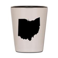 Unique Ohio state Shot Glass