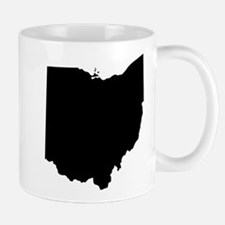 Black Ohio Mugs