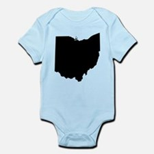 Black Ohio Body Suit