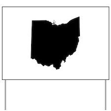 Funny Ohio state buckeyes Yard Sign