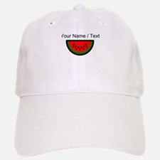 Custom Watermelon Baseball Baseball Cap